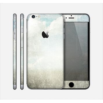 The Vintage Cloudy Scene Surface Skin for the Apple iPhone 6 Plus