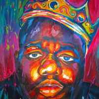 BIGGIE SMALLS Art Print by Molly Jean | Society6