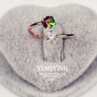 Zircon Stone Engagement Rings For Woman