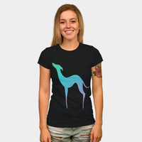 Greyhound Dog Silhouette T Shirt By EDrawings38 Design By Humans