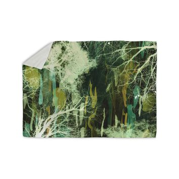 "Iris Lehnhardt ""Tree Of Life Green"" Nature Green Sherpa Blanket"