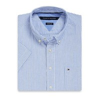 Classic Fit Striped Oxford | Tommy Hilfiger USA