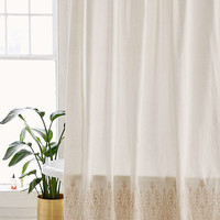 Emma Eyelet Shower Curtain | Urban Outfitters