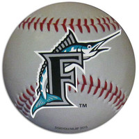 Miami Marlins Small Magnet