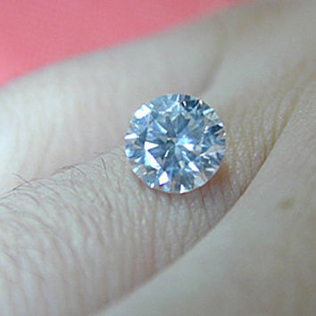 4.04ct F-SI1 Loose Diamond Round Diamond EGL certified Engagement  JEWELFORME BLUE