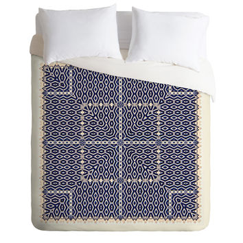 Ballack Art House Greece Duvet Cover