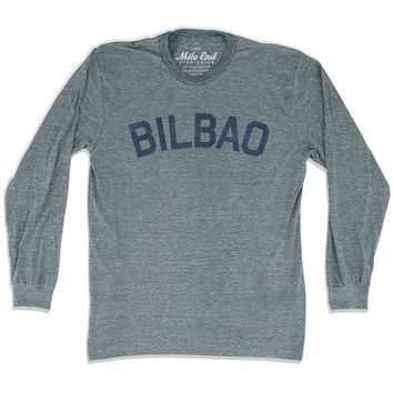 Bilbao City Vintage Long-Sleeve T-shirt