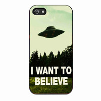 I Want To Believe X-Files For IPHONE 4S Case *02*