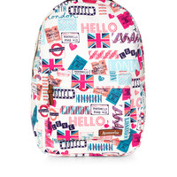 London Love Dome Backpack | Multi | Accessorize