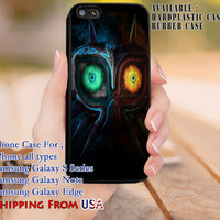 Majora Mask The Legend of Zelda iPhone 6s 6 6s+ 5c 5s Cases Samsung Galaxy s5 s6 Edge+ NOTE 5 4 3 #cartoon #anime #TheLegendOfZelda #game dl8