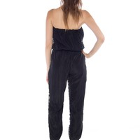 Strut Your Stuff Strapless Jumpsuit - Black from Glam at Lucky 21 Lucky 21