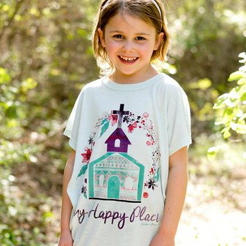 Southern Grace Spring My Happy Place Shirt