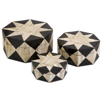 Star Black Bone Inlay Box Set