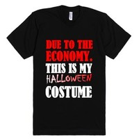 Cheap Costume-Unisex Black T-Shirt