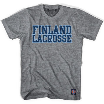 Finland Lacrosse Nation T-shirt