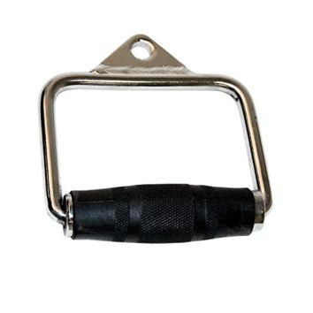 CAP Barbell Single D Handle with Rubber Handgrips