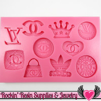 Super Girly Designer Silicone Mold Food Grade
