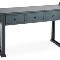 Hua Console, Charcoal, Console Table