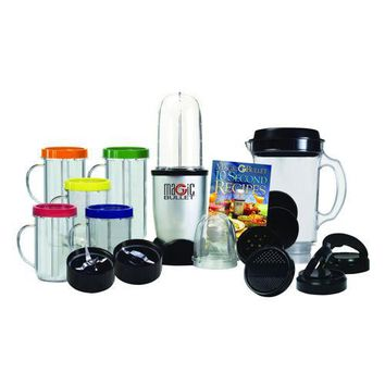 Magic Bullet 26-Piece Mixer & Blender Set With New Ice Shaver Blade