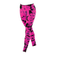 Tie-Dye Seamless Leggings; Urban Groove