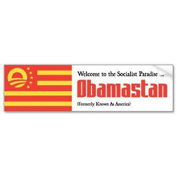 Obamastan Bumper Sticker from Zazzle.com