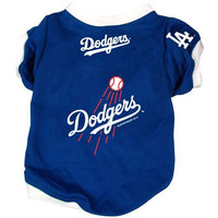 Los Angeles Dodgers Pet Dog Baseball Jersey Alternate SMALL