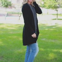 On the Wind Cardigan - Black