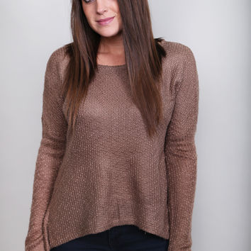 Hot Cocoa Sweater By BB Dakota