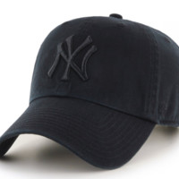Forty Seven Brand New York Yankees Clean Up Hat In Black