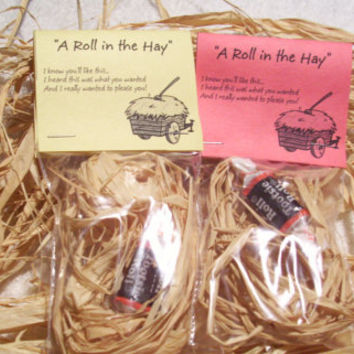 A Roll in The Hay Novelty Joke Gag Gift by PyrateWench on Etsy