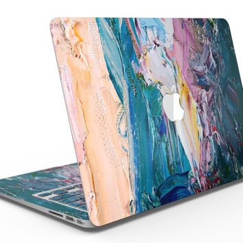 Abstract Oil Strokes - MacBook Air Skin Kit
