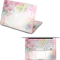 apple macbook pro front decal pink  apple macbook keyboard cover macbook decals laptop top decal macboo air stickers macbook pro skin