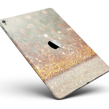 "Pink and Gold Shimmering Lights  Full Body Skin for the iPad Pro (12.9"" or 9.7"" available)"