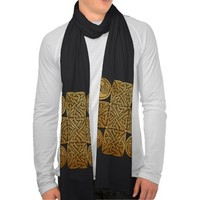 Celtic Knotwork Cross Scarf Wraps