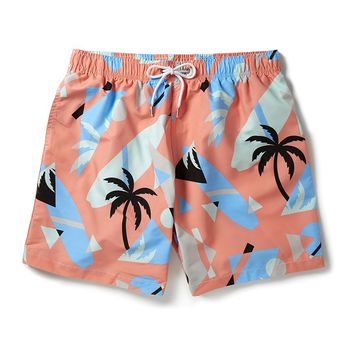Boardies Glitch Wave Swim Shorts Orange