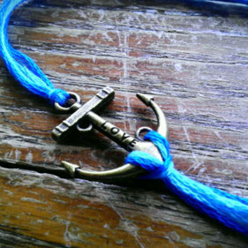 Anchor Bracelet with love - 3 colors