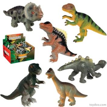 Small Dinosaur Collection - Toysmith - Pack of 48 ea