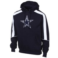 Dallas Cowboys Winner Pullover Hoodie - Navy Blue