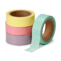 ConsumerCrafts Product Washi Tape 4 Pack: Pastel Colors