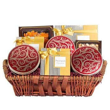 VIP Executive Gift Basket Dried Fruits & Nuts