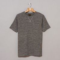 National Athletic Goods V Pocket Tee (Dark Grey) | Oi Polloi