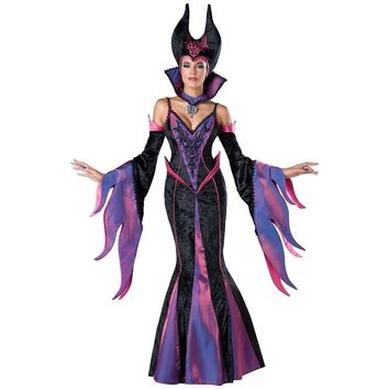 Maleficent Costume Maleficent Dark Sorceress Adult Costume Fancy Dress Halloween Costumes for Women