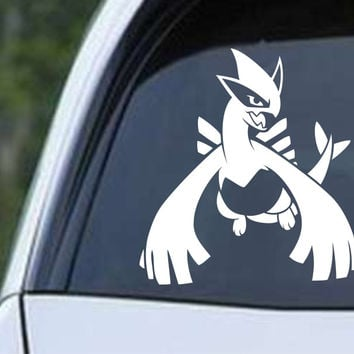 Pokemon Lugia Legendary Silver Die Cut Vinyl Decal Sticker