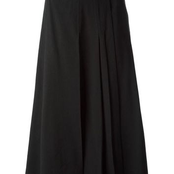 DCCKIN3 Christophe Lemaire belted pleated skirt