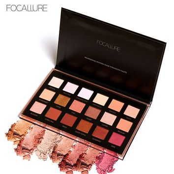 18 Full Color Matte Diamond Glitter Eyeshadow Palette Makeup Eyeshadow Palette Cosmetics Professional
