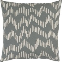 Somerset Throw Pillow Gray, Neutral