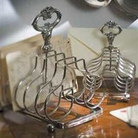 Silver Plated Toast Rack