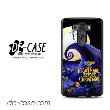 The Nightmare Before Christmas Poster For LG G3 Case Phone Case Gift Present YO