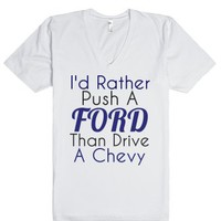 Ford-Unisex White T-Shirt