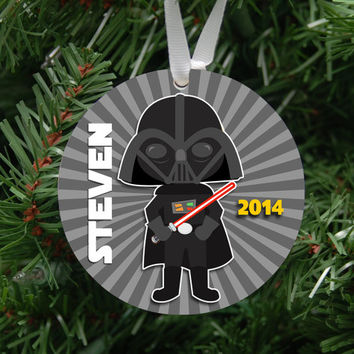 Personalized Star Wars Inspired Ornament Keepsake - Custom Made to Order